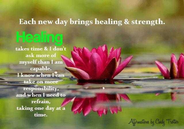 Healing - Rebecca Alderman