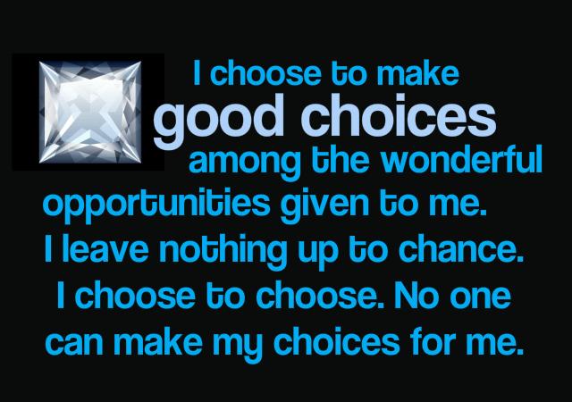 Good Choices - Rebecca Alderman