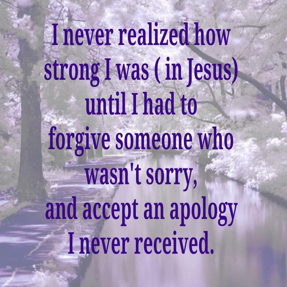Rebecca Alderman - Strength in Jesus