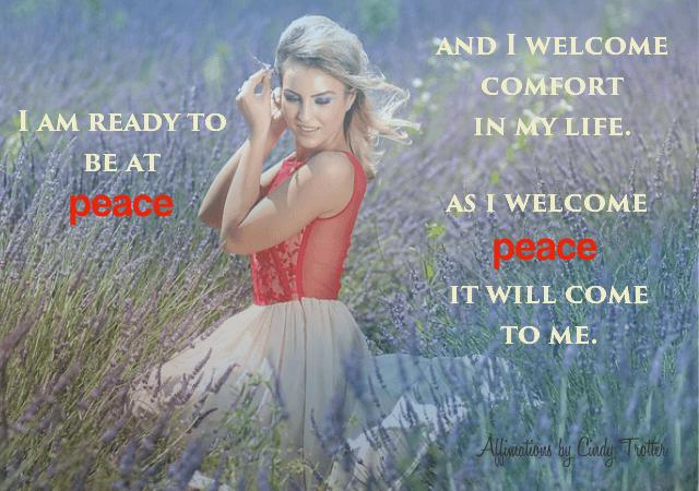 I Welcome Peace - Rebecca Alderman